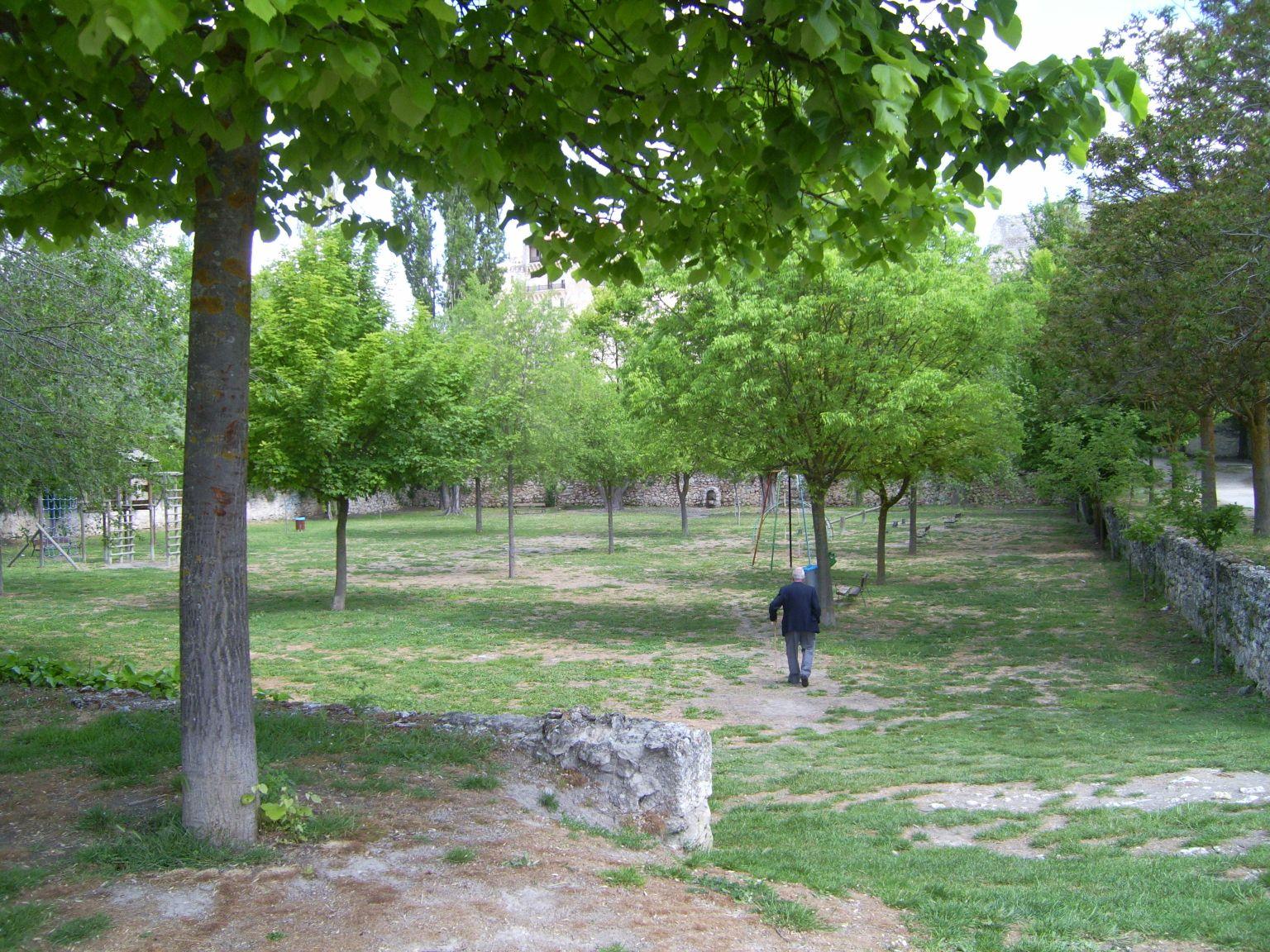 El parque de la huerta del duque