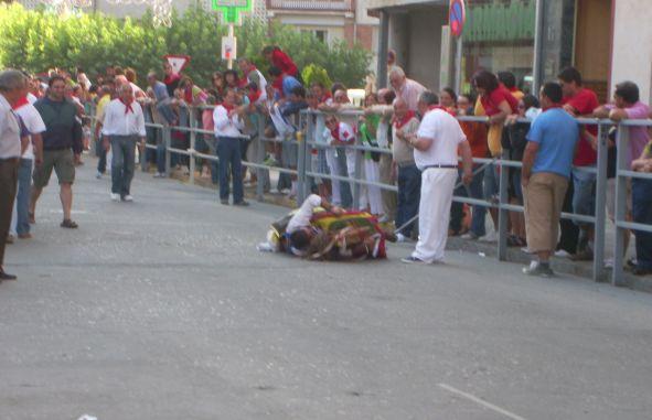 Pichuli y el caballo al suelo