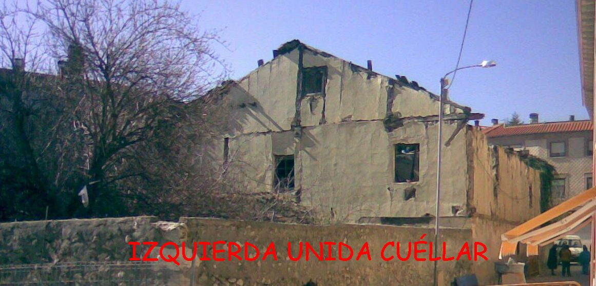 Edificio de las tenerias antes de ser derribado